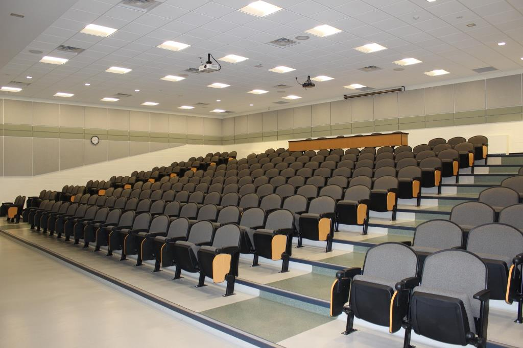 Photo of Empty Seats in Lecture Theatre