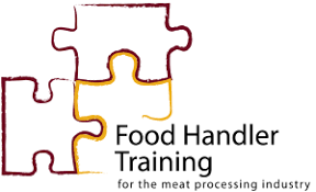 Food handler training for the meat processing industry logo